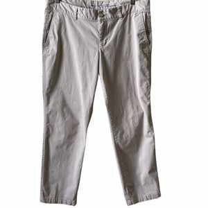 Gap khakis girlfriend straight leg jeans
